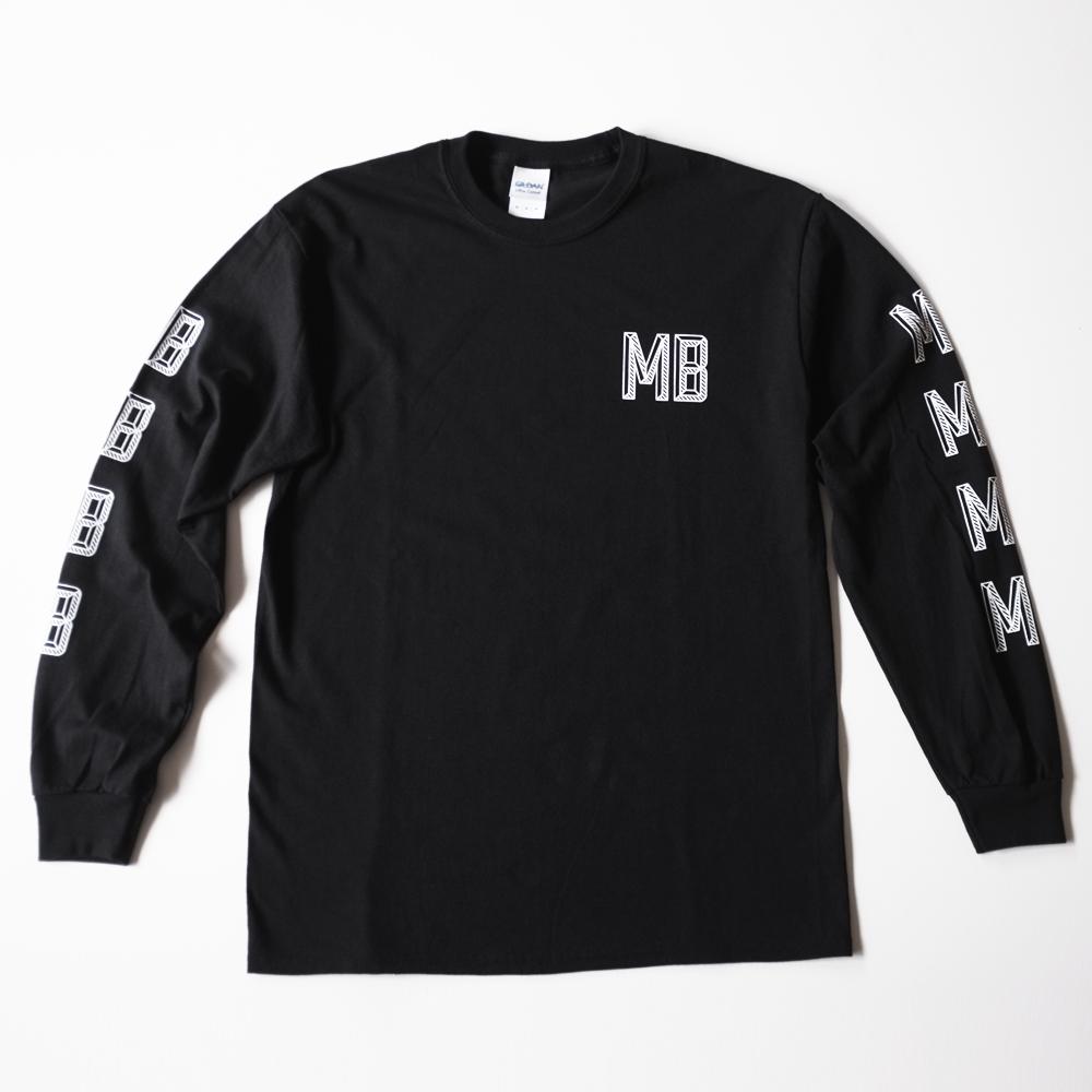 MB Logo Long Sleeve Tee - Black