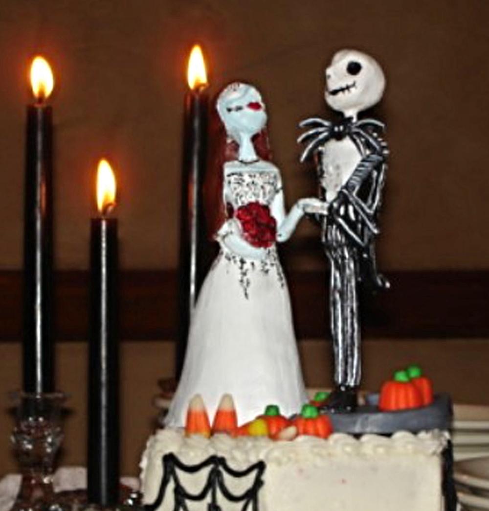 Nightmare Before Christmas Cake Topper