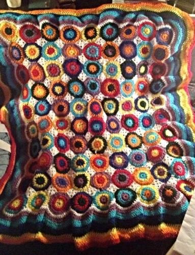 """""""Kandinsky"""" Baby Blanket"""