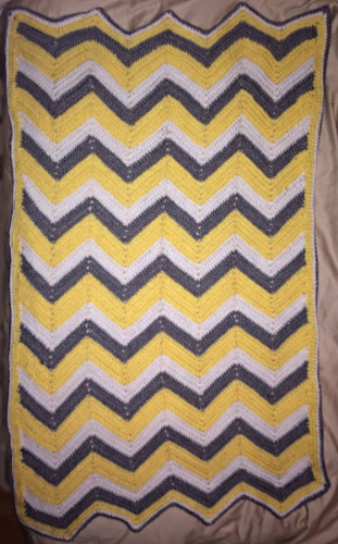 The Classic Chevron Blankie.