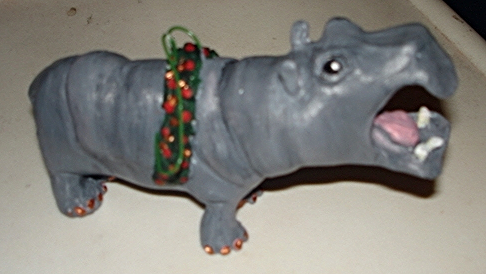 Hippopotamus Ornament