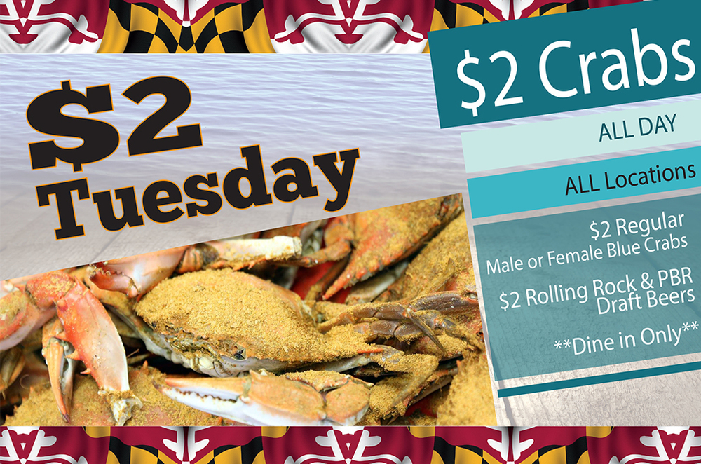 $2 Tuesday Offer by Seafood Specialist in Las Vegas