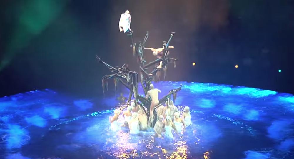 Cirque du Solei - La Reve Show at Wynn Las Vegas