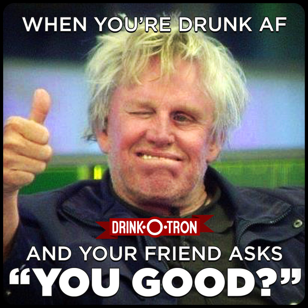 drinkotron gary busey drunk meme?format=500w 39 drunk memes that are so true best wishes and quotes com words
