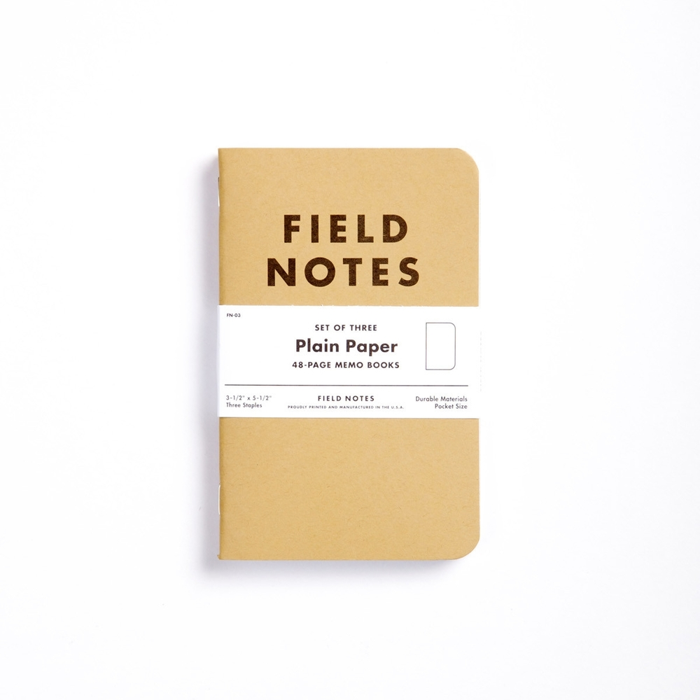 Field Notes (Buy them in our Canteen!)