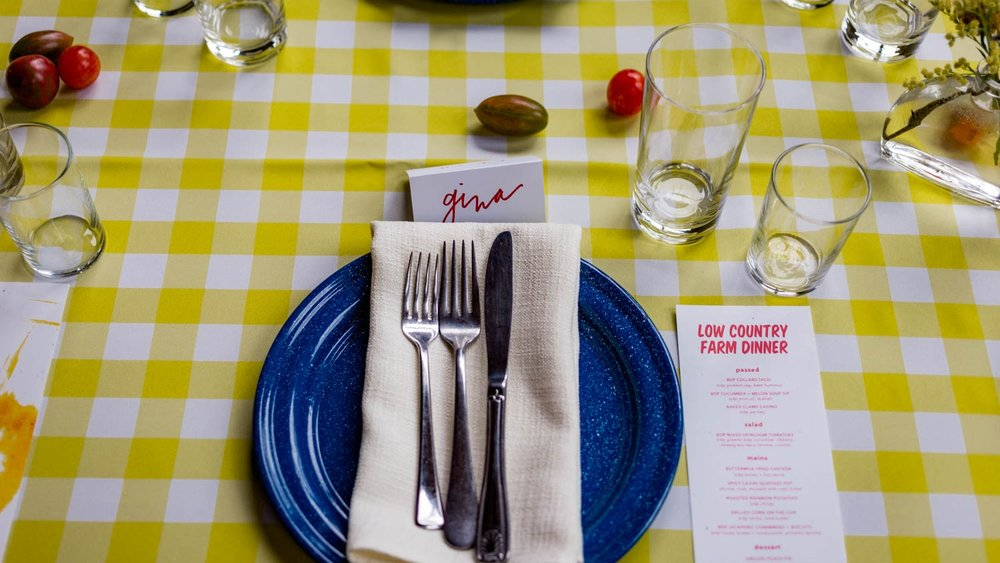 LOW COUNTRY FARM DINNER -