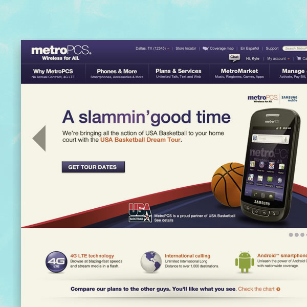 Metro-PCS & USA Basketball