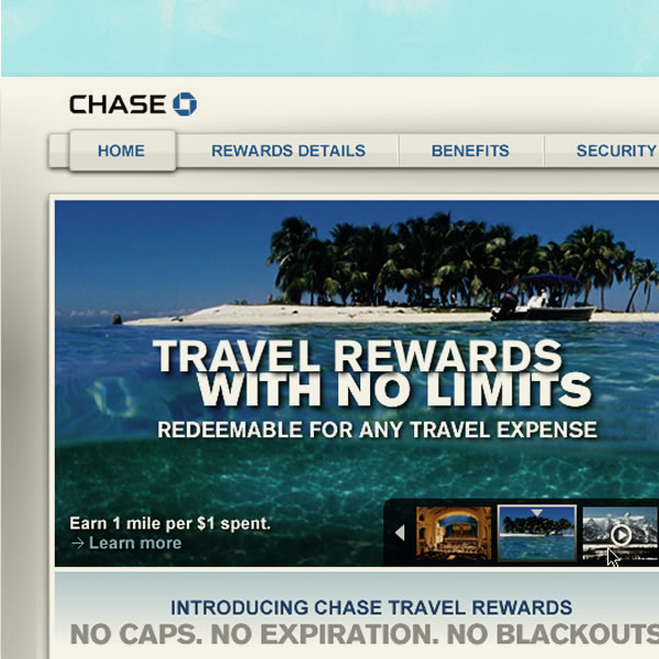 Travel Rewards Campaign
