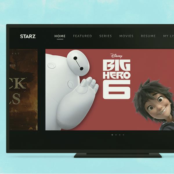 Starz TV App