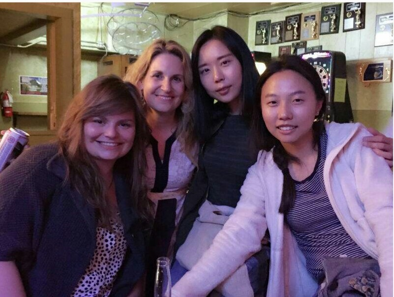 #summeratthebray with the lovely Melanie Sherman, Yoonjee Kwak and Shiyuan Xu