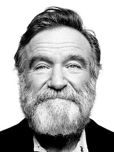 Pinterest | :  Image of Robin Williams sourced from RobinWilliams.net