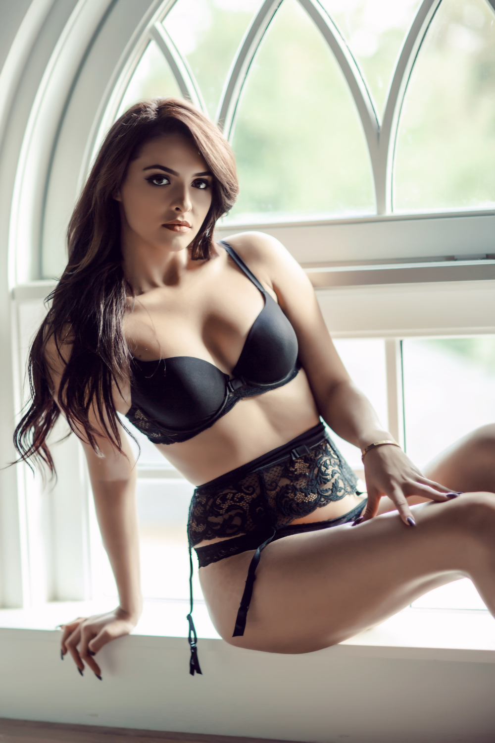 1066c2be9 Hooked on black lingerie  Our soft and romantic studio setting allows a  beautifully feminine