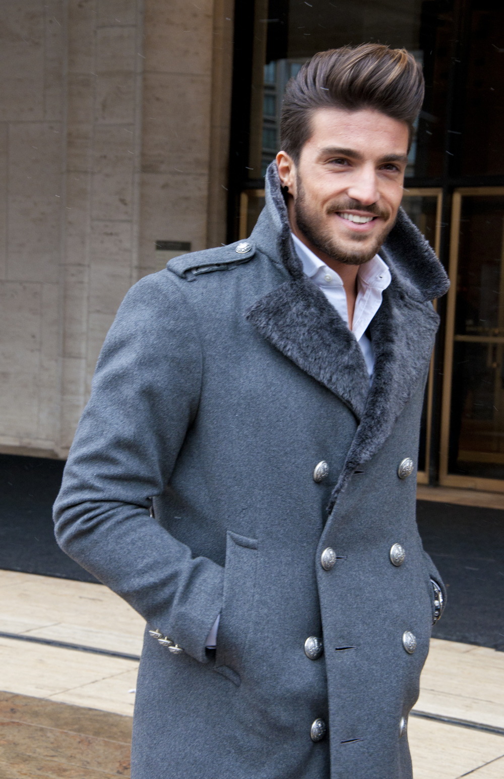 Mariano Di Vaio wearing coat by Alexander Nash #mancandy