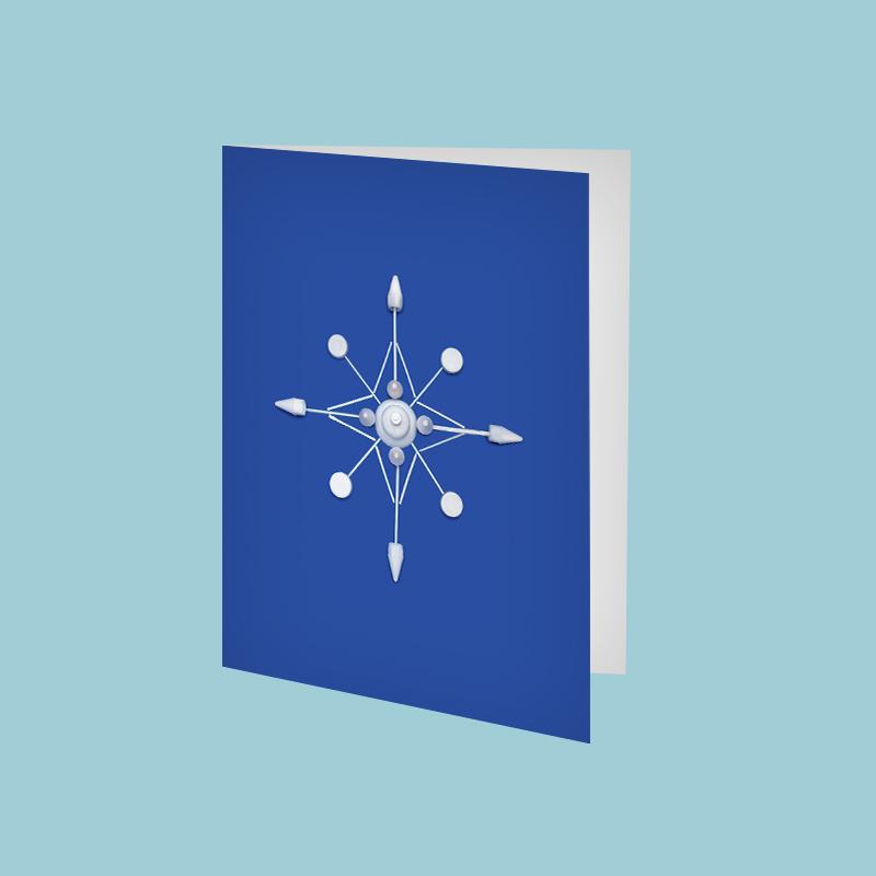 SQ_amy_chen_design_beach_plastic_holiday_christmas_greeting_card_etsy_listing_snowflake.jpg