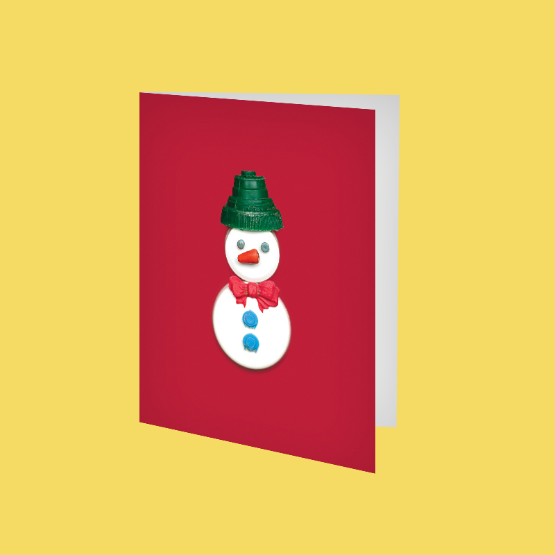 SQ_amy_chen_design_beach_plastic_holiday_christmas_greeting_card_etsy_listing_snowman.jpg