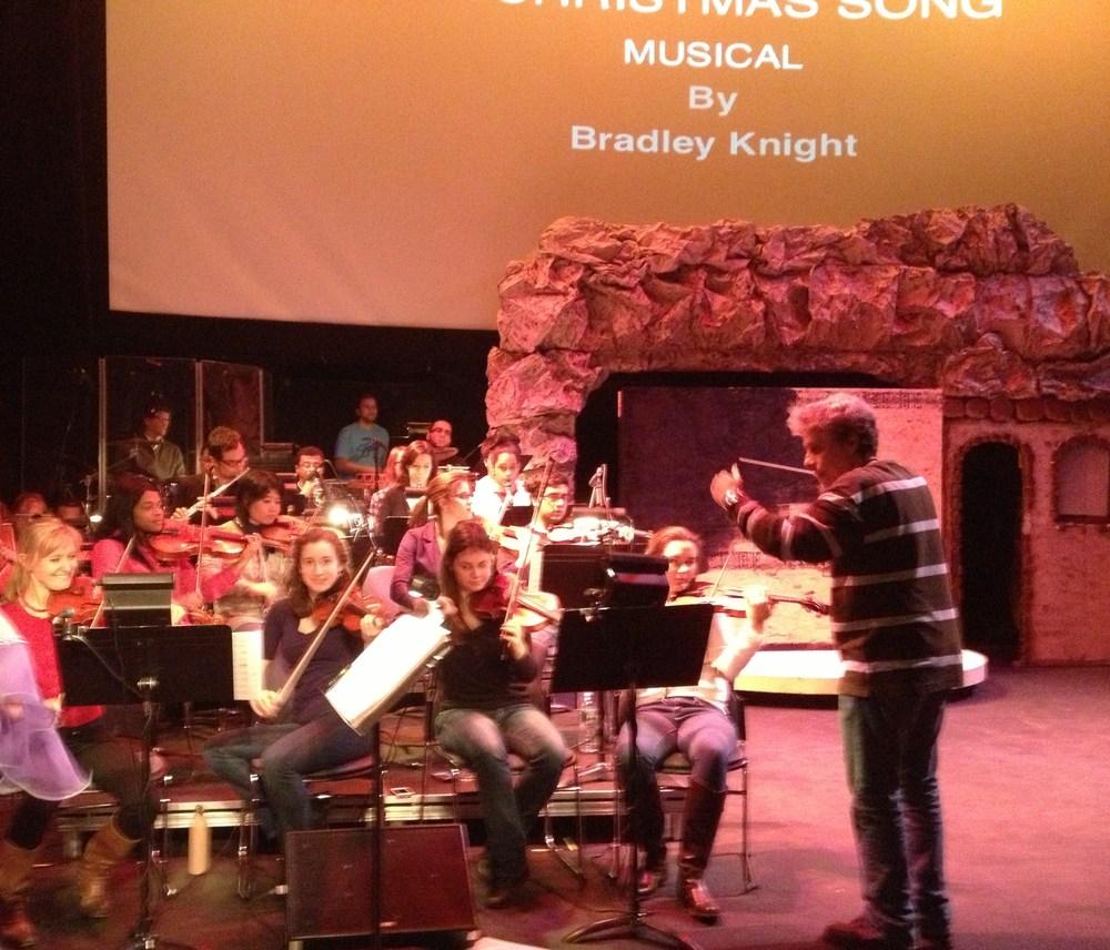 """Musical no """"Queens Theatre"""" de Nova Iorque"""