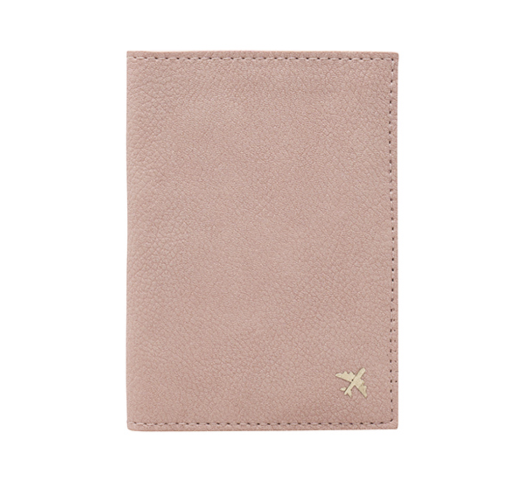 1. The Passport Holder - BeisPrice: $15Finding a gift for your travel loving bestie, sister or even co-worker just got a whole lost easier. This cute passport holder is from Shay Mitchell's new travel bag line and it comes in three colors, this nude/light pink, light blue and black! Best part, it's under $20 and has the cutest little gold plane detail.