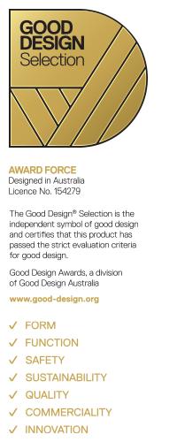 Award Force good design selection