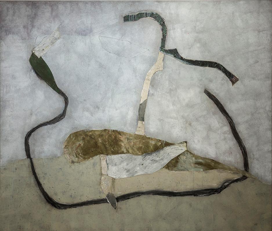 (07) Marc Garneau -½In Memoriam VI (1989) technique mixte  sur toile (188cm x  234cm).png