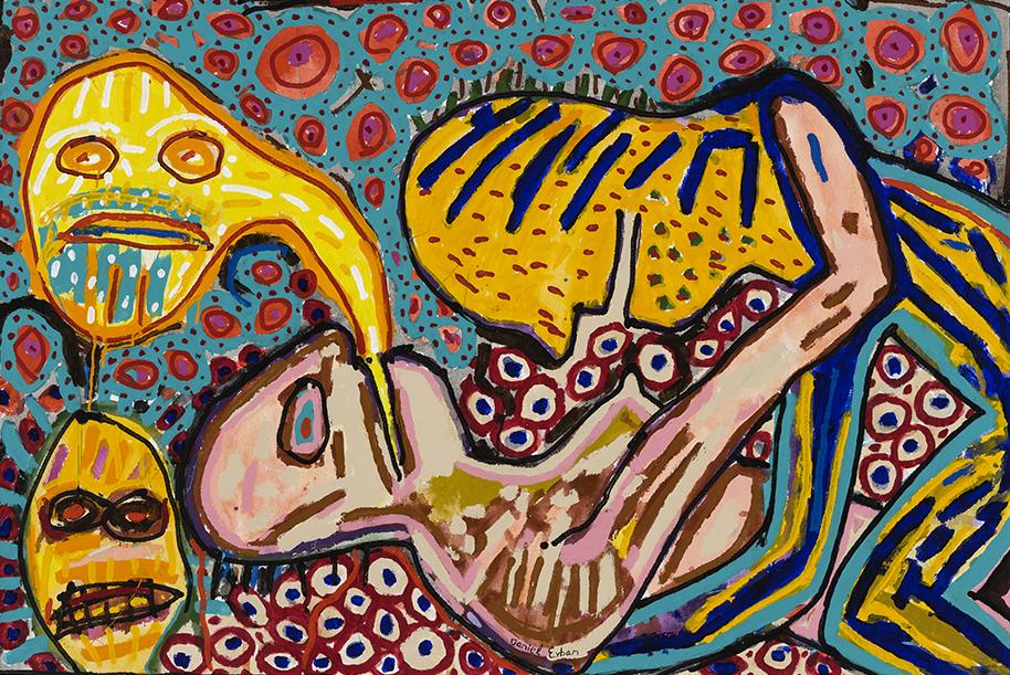 Daniel Erban «Carnal Knowledge» (2000) acrylique sur toile (91cm x 122cm) (GLH8773).jpg