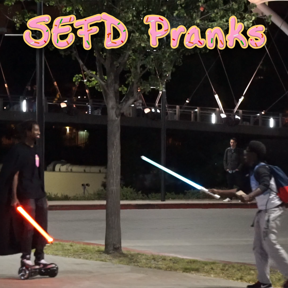 SEFD Pranks Join Jabril & the SEFD Pranks crew as they run around the world pranking unsuspecting victims always with a fun, light-hearted, yet thought-provoking scenario!