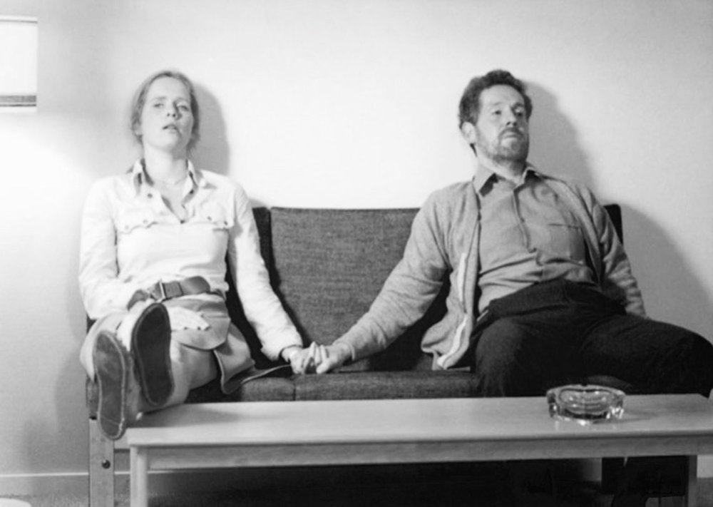 Marianne (Liv Ullman) and Johan (Erland Josephson) in Ingmar Bergman's  Scenes from a Marriage  (1973).