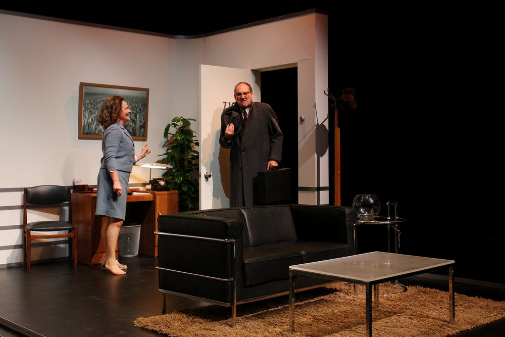3. Karen Nash (Odile Le Clezio) and Sam Nash (Colin Moody) - Plaza Suite - Visitor from Mamaroneck.jpg