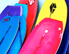 Adult Boogie Boards for Hire in Noosa