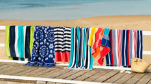 Beach Towels for hire in Noosa.  100cm x 180cm