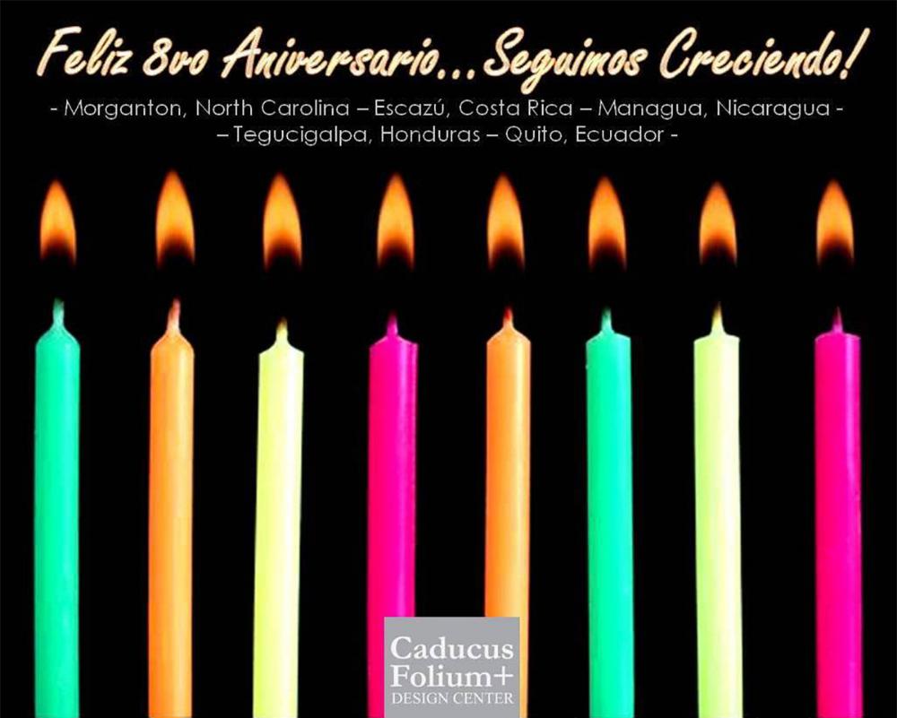 Caducus Folium Design Centers celebrate eight years of design and growth
