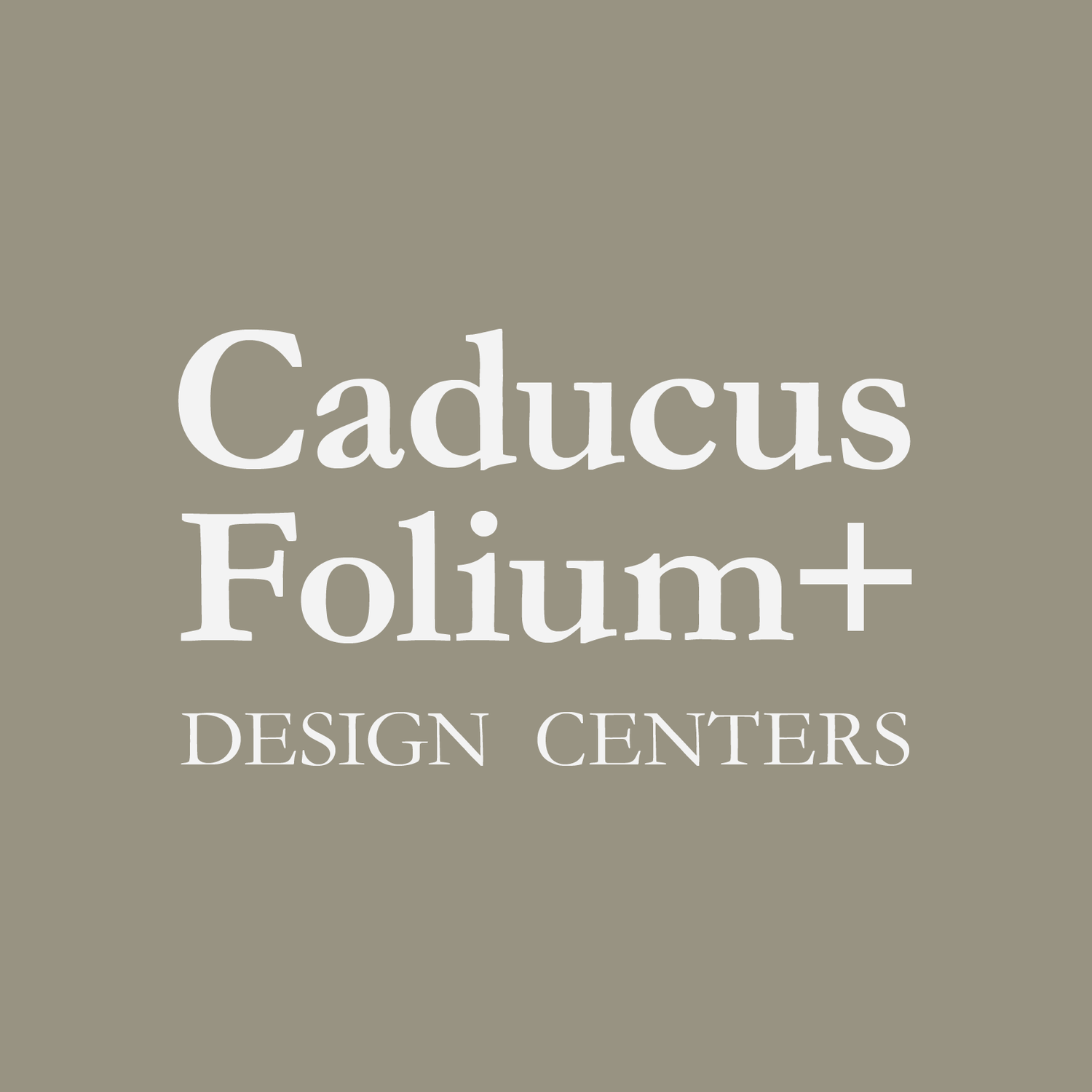Caducus Folium+ Design Centers: Luxury Furnishings & Designer Accessories