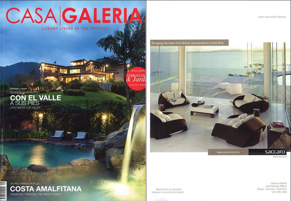 Casa Galeria Saccaro Publicity
