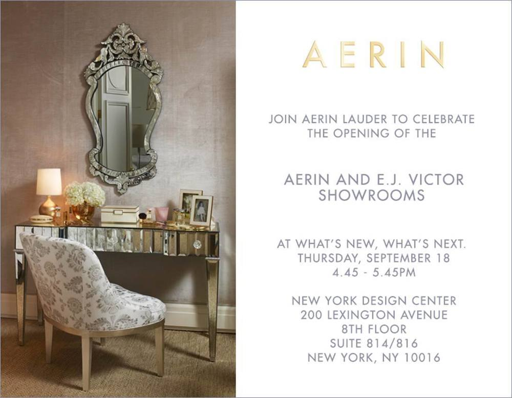 The new E.J. Victor Showroom opens this Thursday!