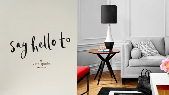 Introducing The NEW Kate Spade New York Furniture Collection
