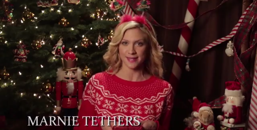 Video:   Christmas Carol Wars with Brittany Snow -  Funny Or Die