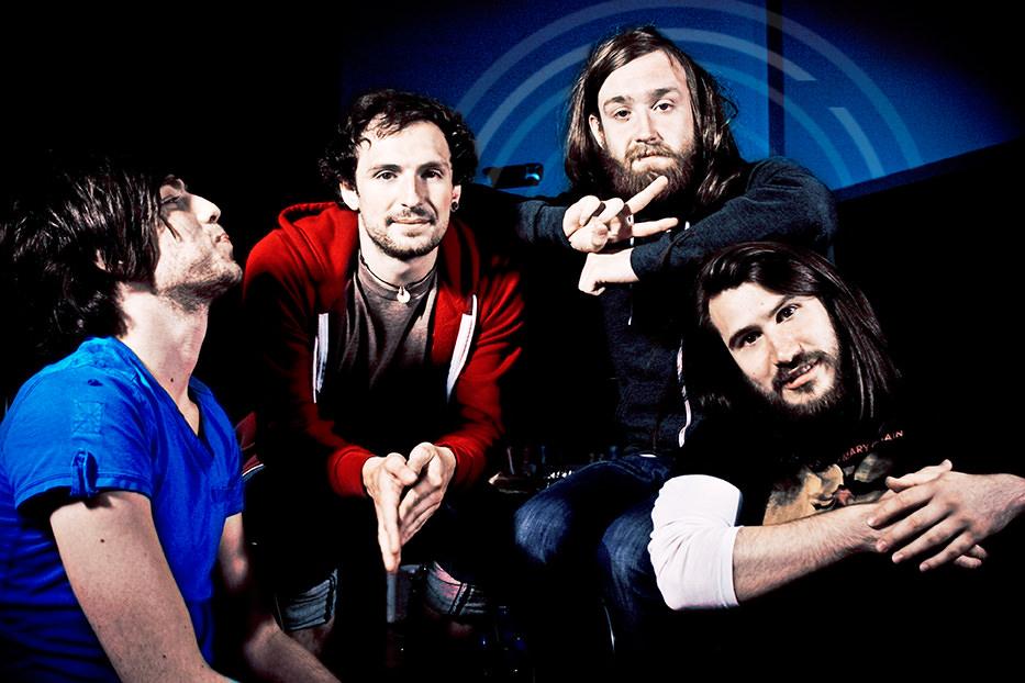 (L to R) Sam, Craig, Ross & Barry