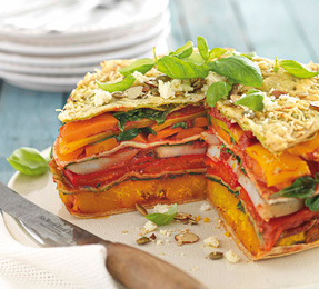 CHARGRILLED VEGE STACK