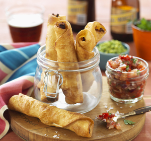 CHIPOTLE CHICKEN TAQUITOS