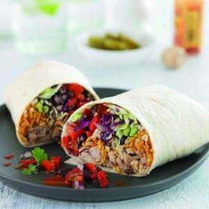 ROAST CHICKEN BURRITOS