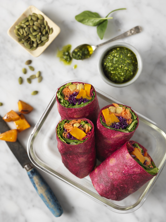 CHICKPEA SUPERFOOD WRAPS