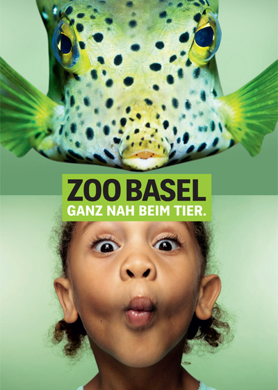 "Zoo Basel ""Face to Face"" campaign"
