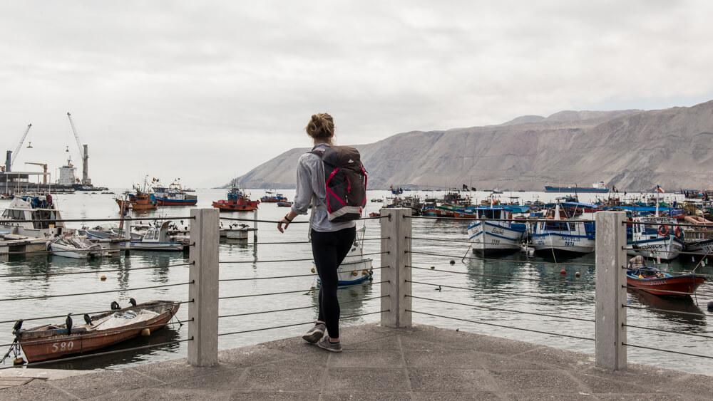 The Port of Iquique