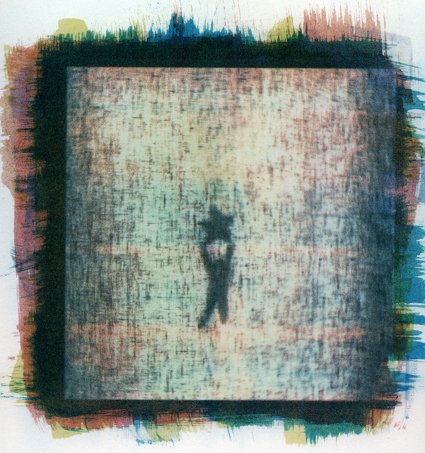 A Familiar  Three channel gum bichromate over cyanotype