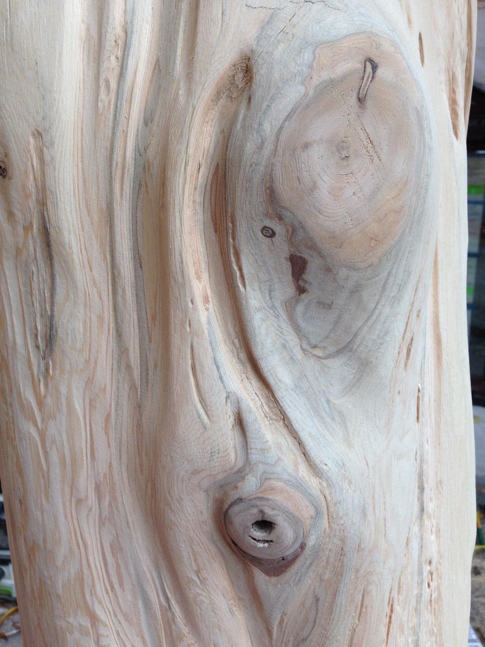 Rustic white cedar