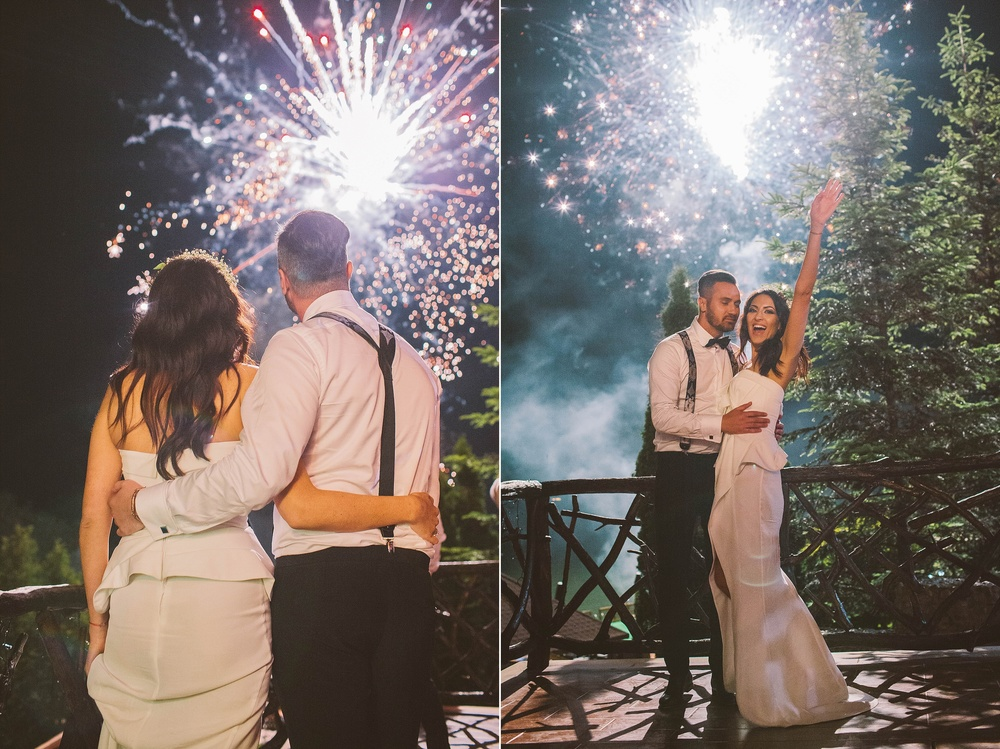 fireworks wedding photography wedding faeries