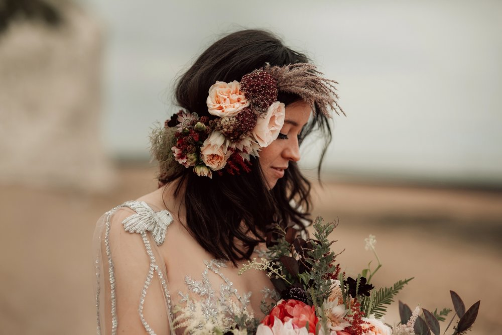 dreamy head piece