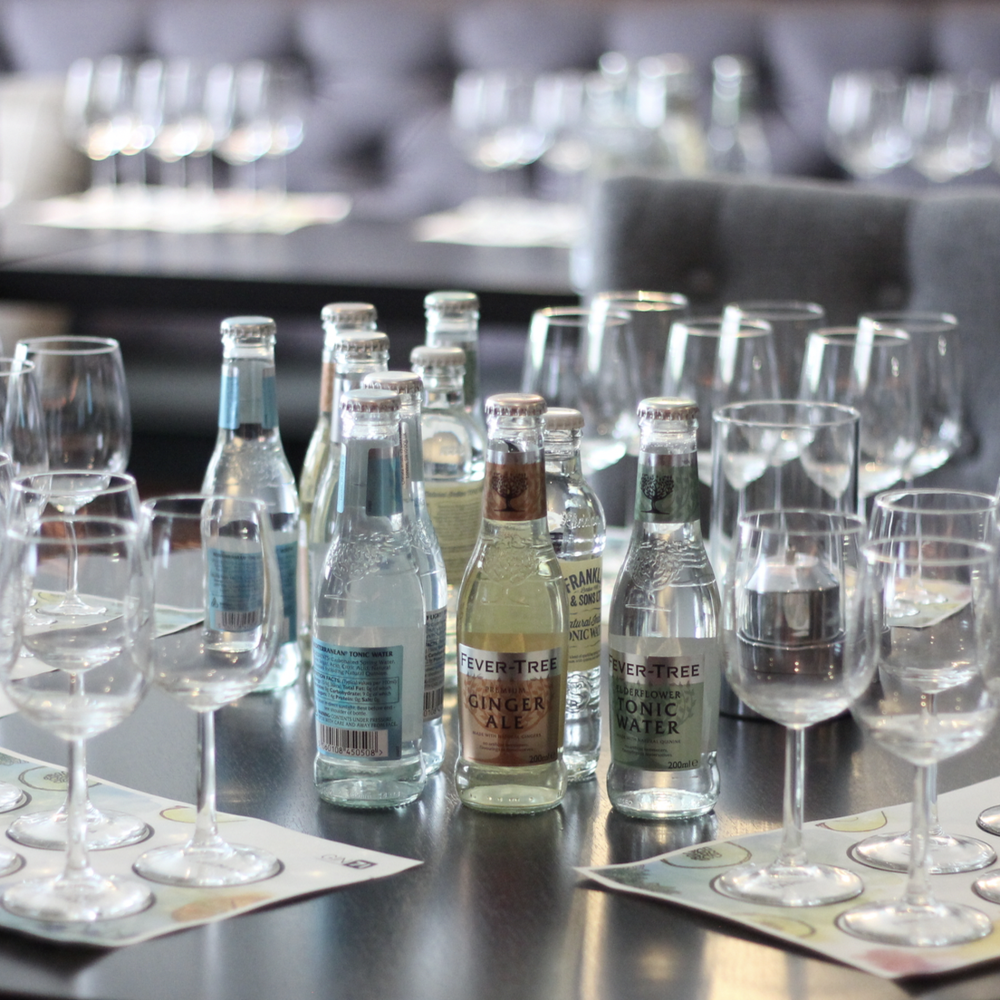 GIN TASTING EVENTS - Sample six premium gins with their ideal garnish and mixer