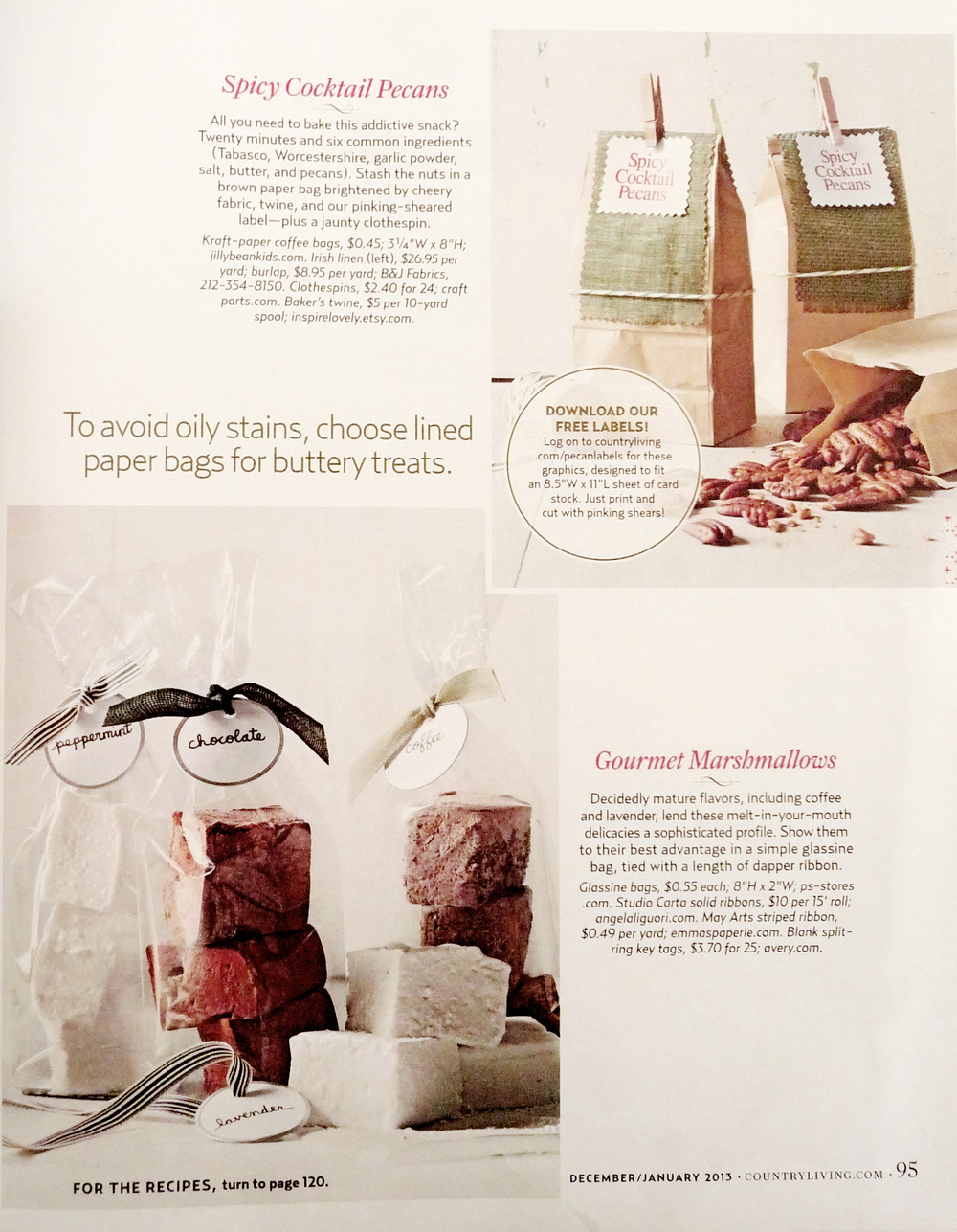 Country Living December 2012