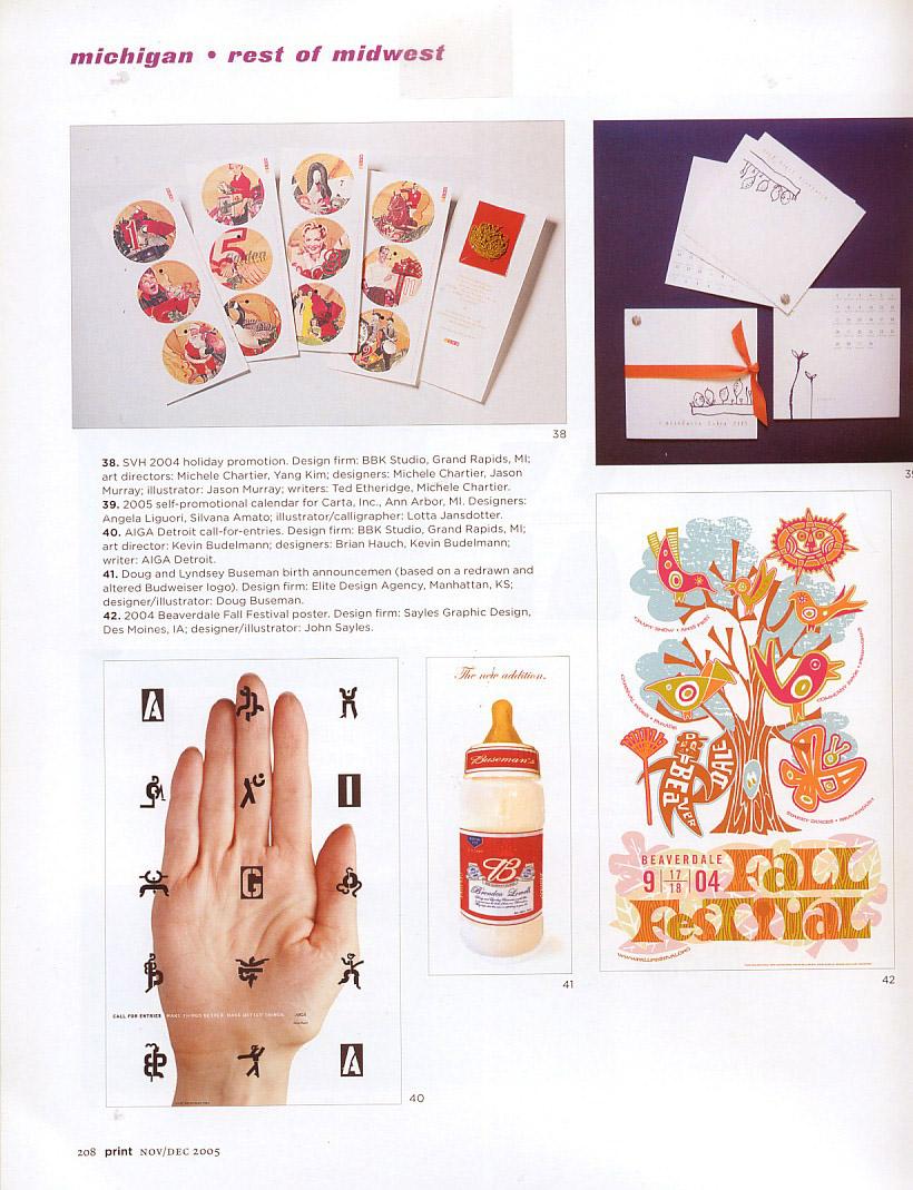 Print Design Annual 2005