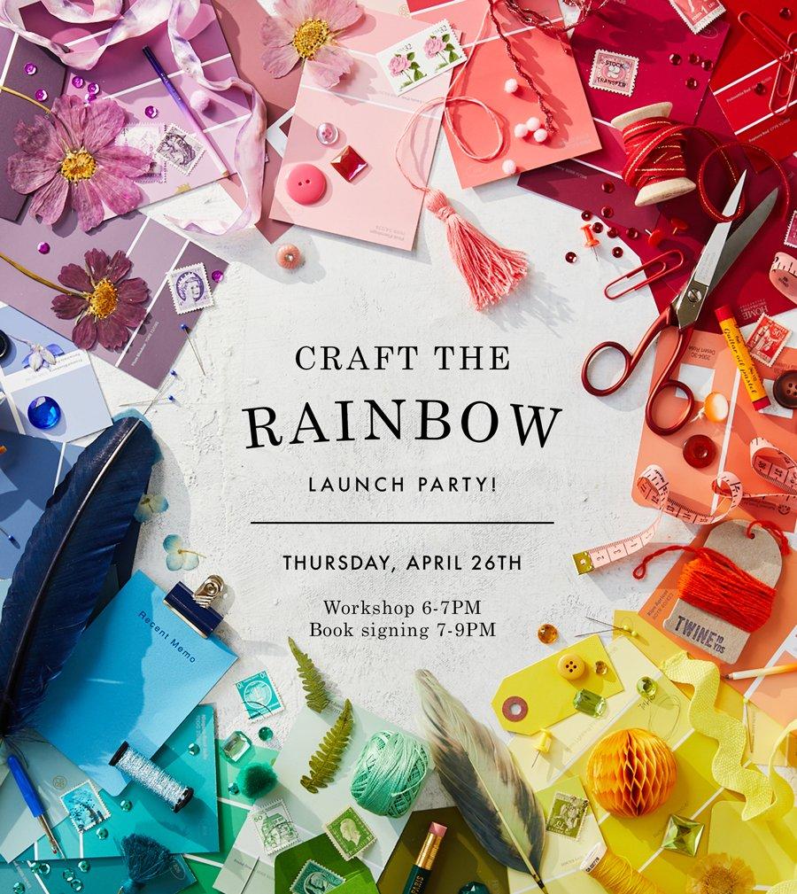 Craft the Rainbow | April 2018
